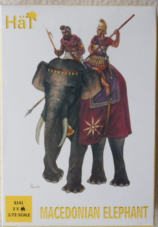 HaT 1/72 HAT8141 Macedonian Elephants (Ancients)